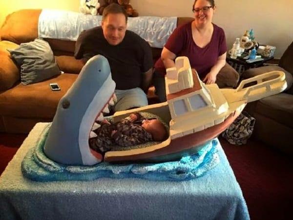 Pourriez-vous mettre votre enfant dans un lit comme celui-ci? (photos)