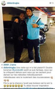 Didier Drogba à Arafat DJ: Ceux qui te critiquent sont ceux qui se cachent pour danser ta musique...