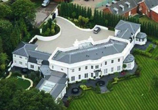Top 10 des maisons les plus chères de footballeurs, Drogba en tête: photos