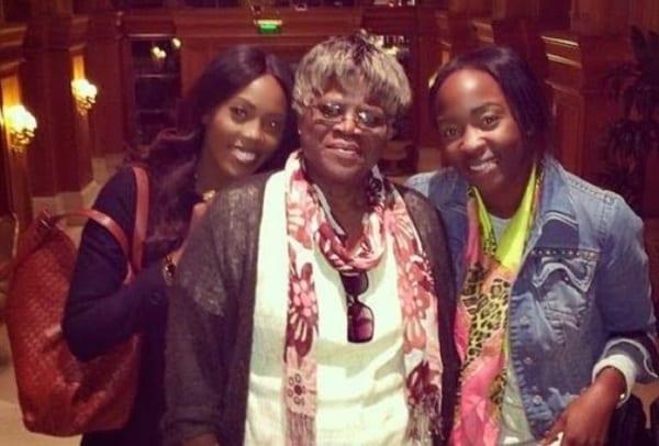 Tiwa Savage nous présente sa mère et sa sœur: photo