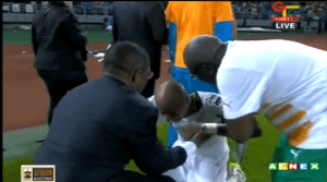 André Ayew très incosolable après la défaite des Black Stars