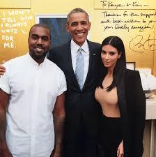 Obama : « Kanye west et kim kadarshian sont deux gros mythomanes !!! »
