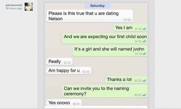 John Dumelo confirme sa relation amoureuse avec Yvonne Nelson