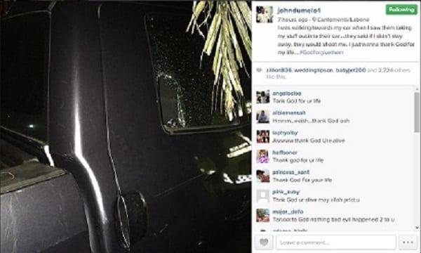 L'acteur John Dumelo victime d'un vol à main armée