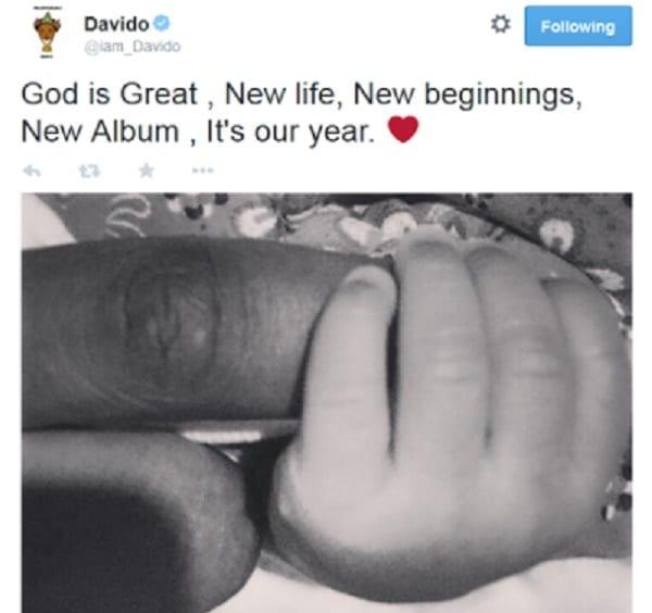 Davido est devenu papa: photos