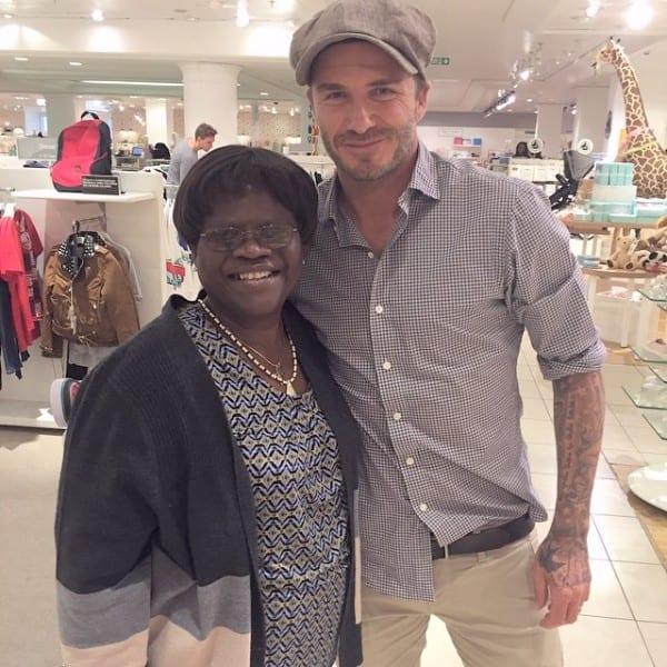 "Tiwa Savage: ""Comment ma mère m'a embarrassée quand elle a vu David Beckham""(photo)"