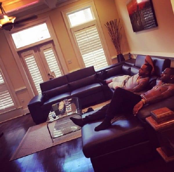 Davido nous montre l'intérieur de sa nouvelle maison à Atlanta: photo