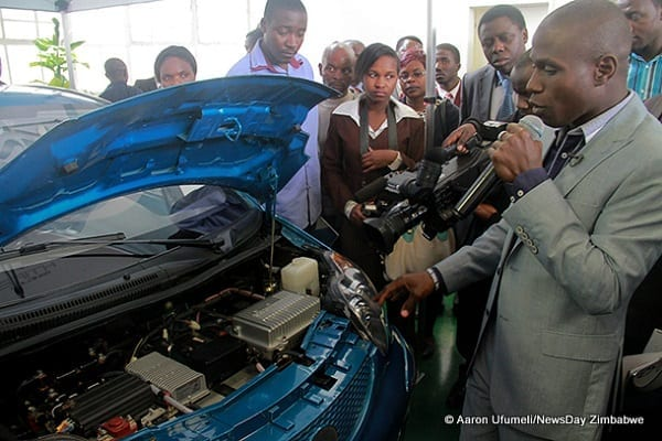 1-Sangulani-Chikumbutso-explains-how-the-Saith-Fully-Electric-Vehicle-FEV-operates.It-has-a-top-speed-of-90km-h