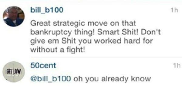 50 Cent admet ne pas être en faillite