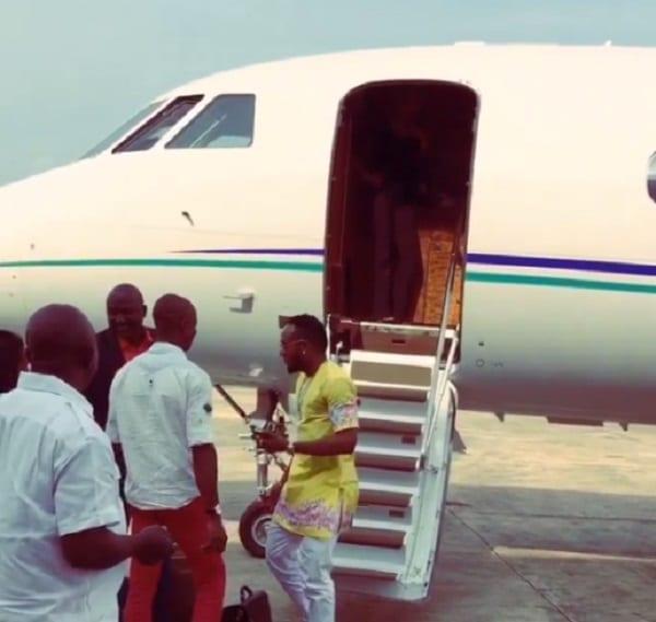 Akon et son Jet privé: photos