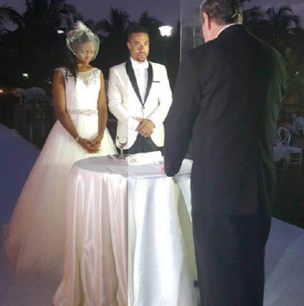 L'acteur ghanéen, Majid Michel et son épouse ont renouvelé leurs vœux de mariage: PHOTOS
