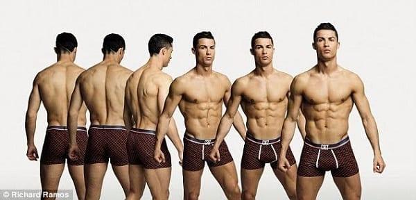 Cristiano Ronaldo: Découvrez les photos de la campagne de sa collection de sous-vêtements CR7