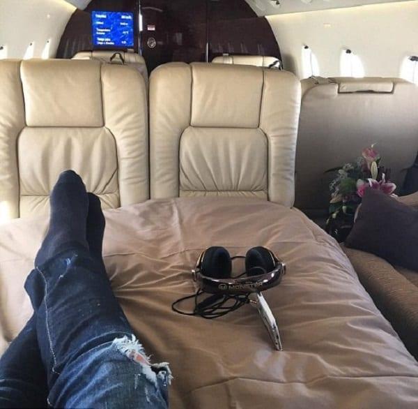 Cristiano Ronaldo montre à quoi ressemble l'intérieur d'un jet privé de luxe: PHOTO