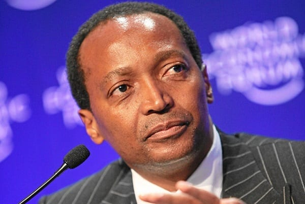 DAVOS-KLOSTERS/SWITZERLAND, 30JAN09 - Patrice T. Motsepe, Executive Chairman, African Rainbow Minerals, South Africa captured during the session 'Global Industry Outlook 1' at the Annual Meeting 2009 of the World Economic Forum in Davos, Switzerland, January 30, 2009. Copyright by World Economic Forum    swiss-image.ch/Photo by Monika Flueckiger