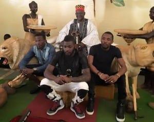 Serges Beynaud, Debordeaux, Arafat DJ unis chez le Moro Naba