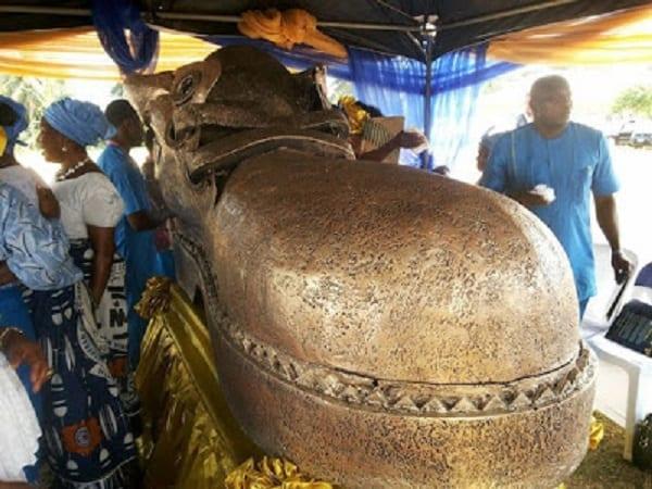 Nigeria: Un artiste enterré dans un magnifique cercueil en chaussure