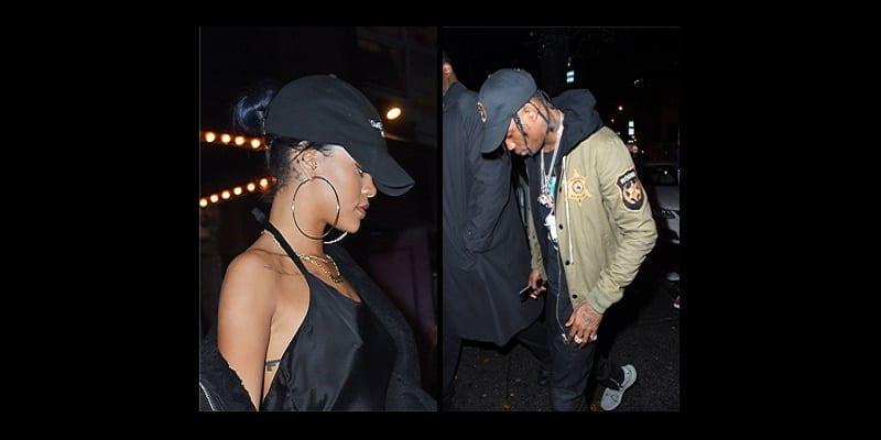 Après Benzema et Hamilton, cette fois Rihanna n'arrive pas à se séparer de Travis Scott...Photos