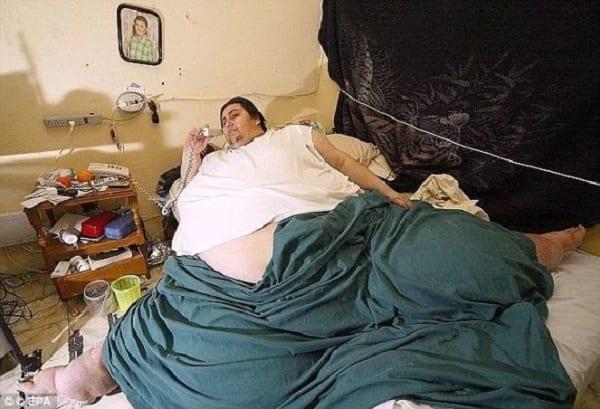 L'homme le plus gros au monde décède à l'âge de 38 ans: PHOTOS