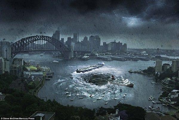 Un artiste décrit la fin du monde par des images incroyables mais effrayantes: PHOTOS