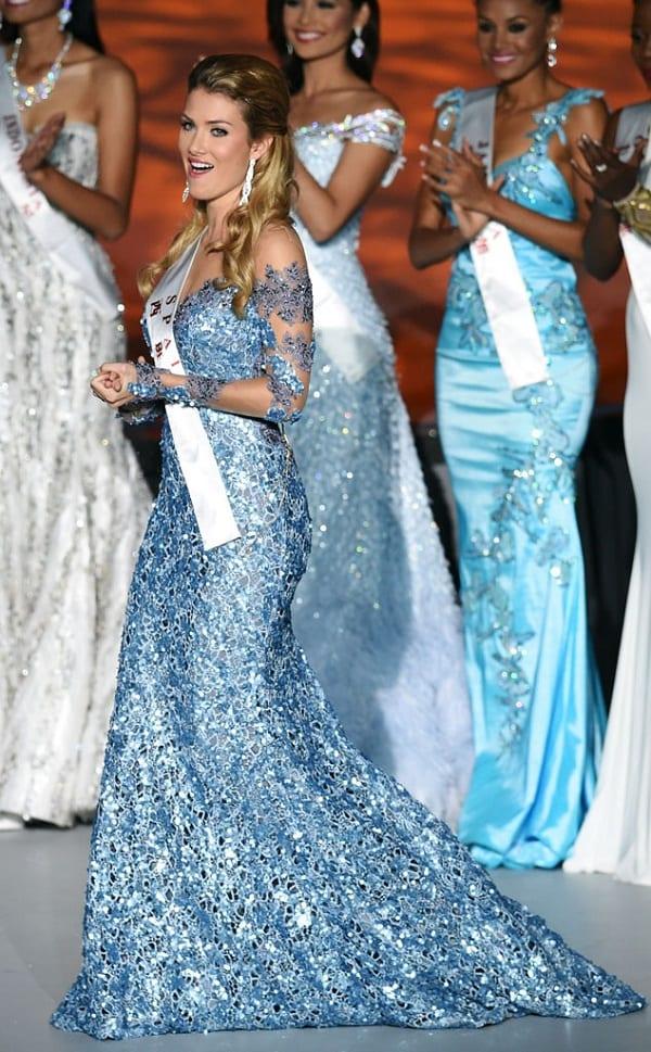 Miss Espagne couronnée Miss Monde 2015: PHOTOS