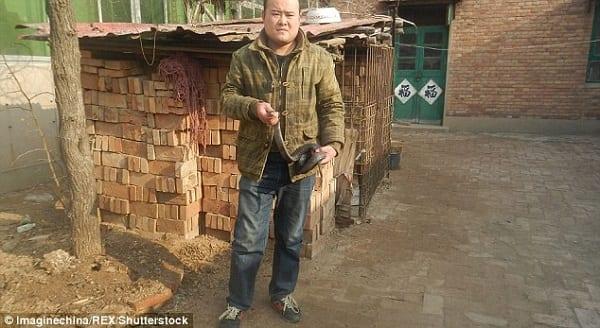 Chine: Une fillette échappe à la mort après une morsure au poignet d'un cobra pour soigner son anémie: PHOTOS