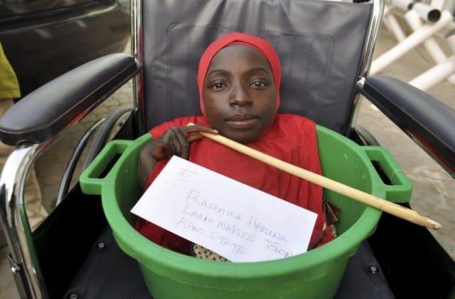 Nigeria: Elle n'a qu'une tête, un tronc et des bras, et peut vivre dans un petit seau (vidéo)