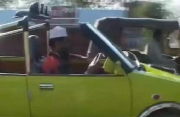Un mécanicien indien conçoit une voiture qui fonctionne avec de l'eau: Vidéo