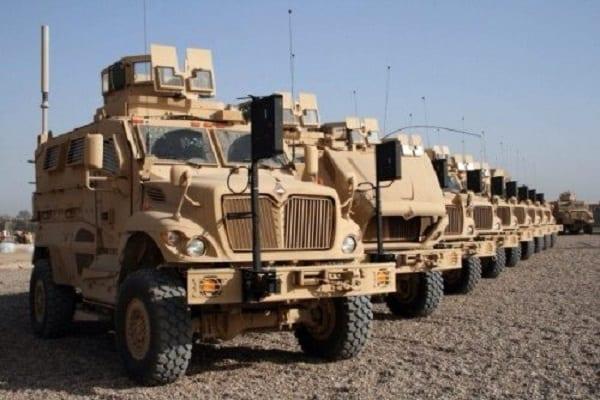 Les États-Unis offrent 24 véhicules blindés à l'armée nigériane dans sa lutte contre Boko Haram: PHOTOS