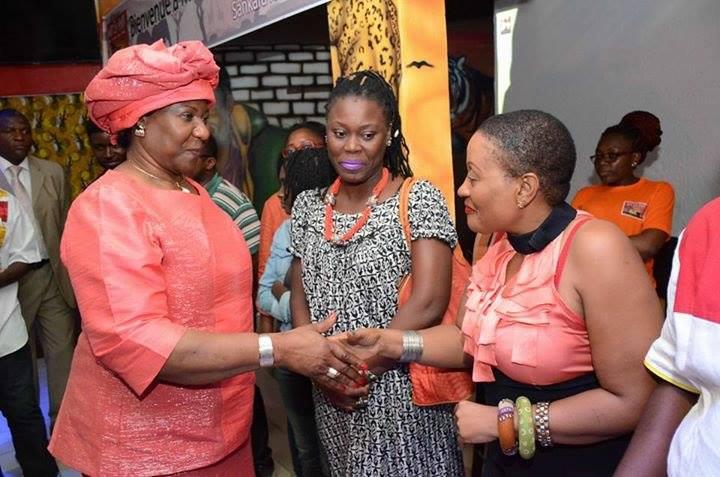 Cameroun: La veuve de Thomas Sankara à yaoundé et à douala...PHOTOS