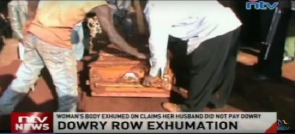 Kenya: Le Corps d'une femme exhumé parce que son mari n'a pas entièrement payé sa dot (PHOTOS)