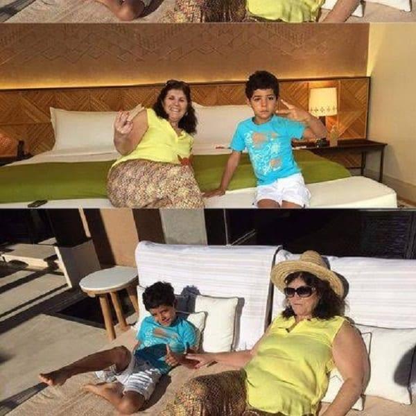 Cristiano Ronaldo ignore les ordres du président du Real Madrid et se rend au Maroc avec sa famille: PHOTOS