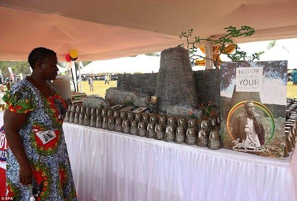 Zimbabwe: L'extravagante fête d'anniversaire de Mugabe (PHOTOS)