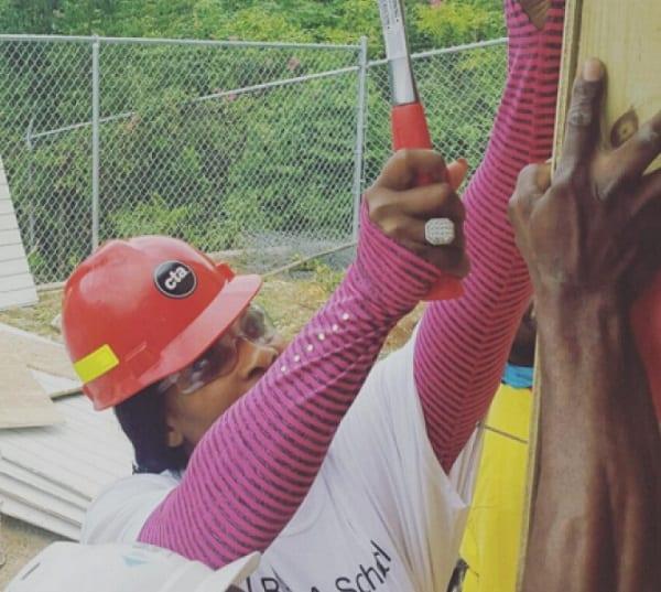 Serena Williams fait construire une école en Jamaïque: PHOTOS