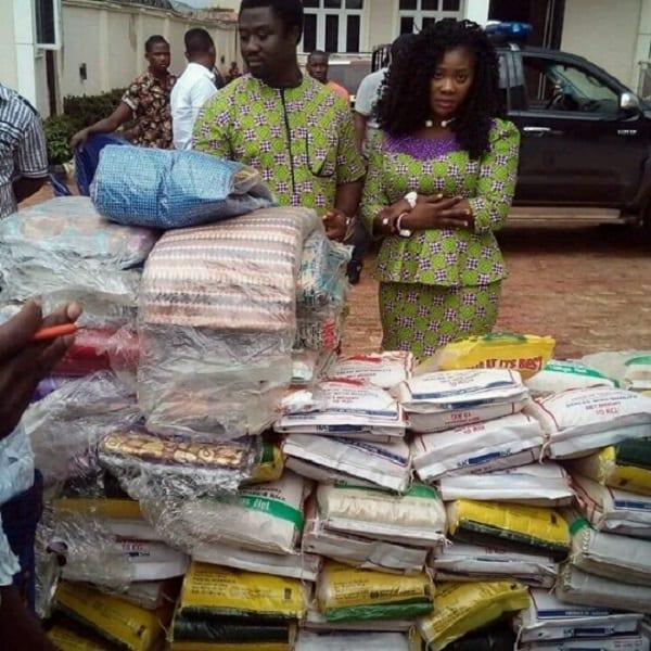 Mercy Johnson fait don aux veuves pour célébrer la pâque (PHOTOS)
