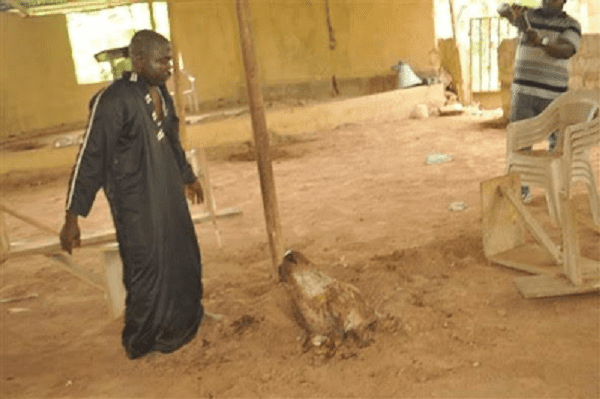 Nigeria: Un faux pasteur qui exerce des activités occultes arrêté (PHOTOS)