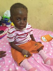 Accusé de sorcellerie, ce bébé  a été abandonné dans la rue durant 8 mois