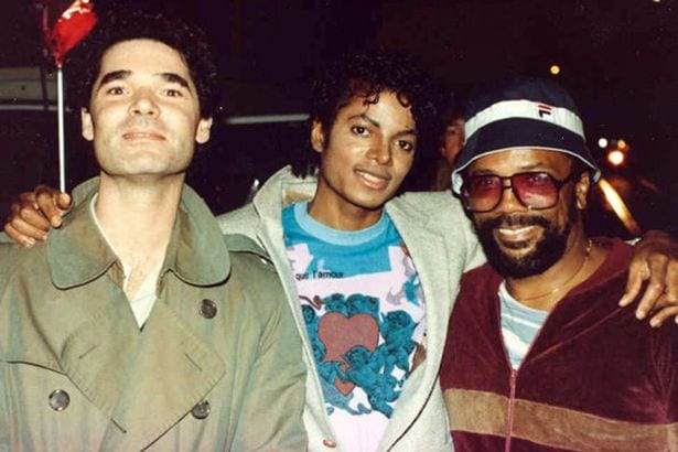 Beat-It-video-producer-Antony-Payne-Michael-and-Quincy-Jones-on-the-set-in-1983