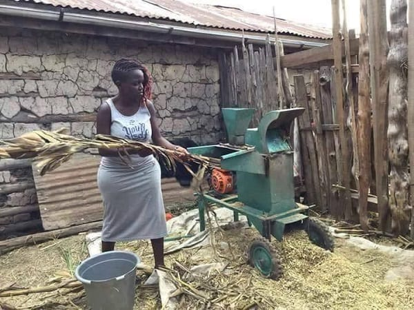 Inspiration: Nakku Justine, millionnaire à 25 ans  grâce à l'agriculture (PHOTOS)