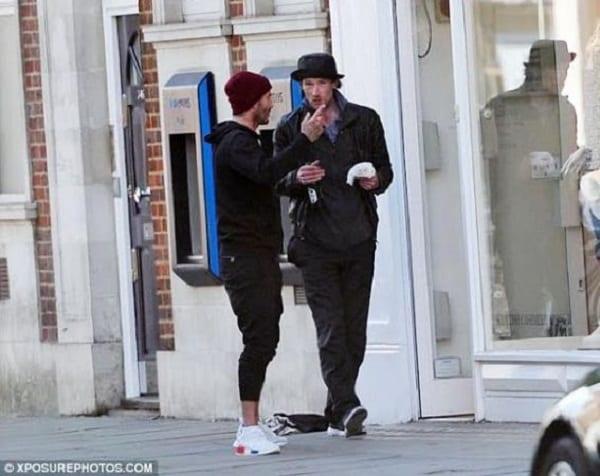 Quand David Beckham apporte le sourire à un sans-abri