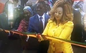 Cameroun: Chantal Biya inaugure un centre de fécondation in vitro à Yaoundé (Photos)