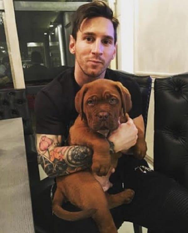 Lionel Messi, Mesut Ozil...Ces joueurs amoureux de chiens: PHOTOS